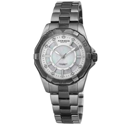Akribos XXIV - Akribos XXIV Women Stainless Steel Watches AK1006GN AK1006GN