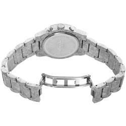 Akribos XXIV Women's Porcelain coated watch in white with a marble finish. AK929WT - Thumbnail