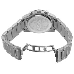 Akribos XXIV Women's Swiss Quartz Multifunction Pink Silver-tone Stainless Steel Bracelet Watch AK908SSPK - Thumbnail