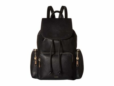 Aldo - Aldo Black Corsage Backpack