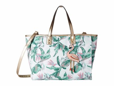 Aldo Light Green Celladati Tote Handbag