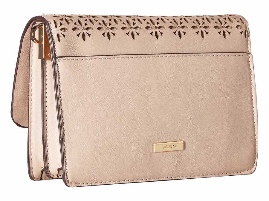 Aldo Light Pink Sweatt Cross Body Bag