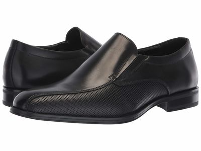 Aldo - Aldo Men Black Leather Drayniel Loafers