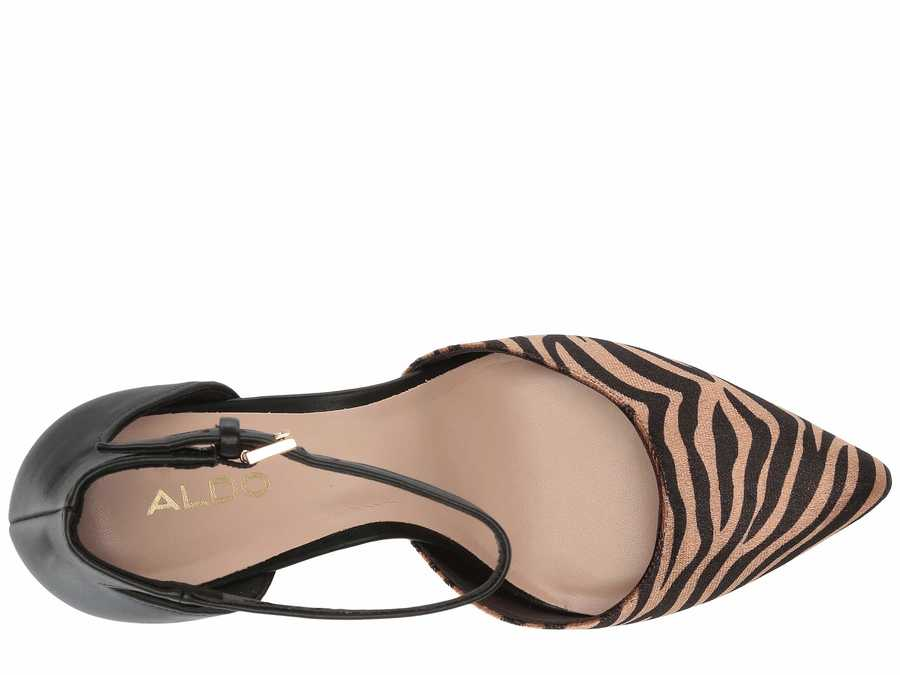 Aldo Women Black Multi İbaecia Pumps
