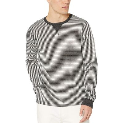 Alternative - Alternative Eco Black Classic Stripe Long Sleeve Eco Cuffed Tee