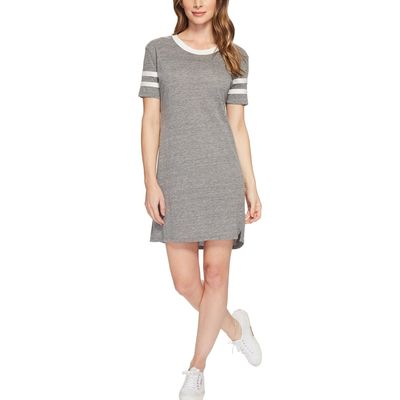 Alternative - Alternative Eco Grey Eco Jersey Stadium T-Shirt Dress