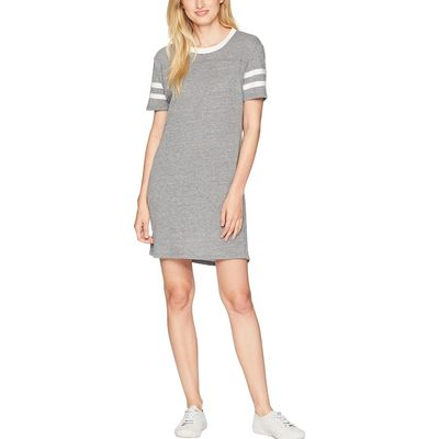 Alternative - Alternative Eco Grey Eco Stadium T-Shirt Dress