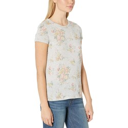 Alternative Eco Oatmeal Country Floral Ideal Tee - Thumbnail