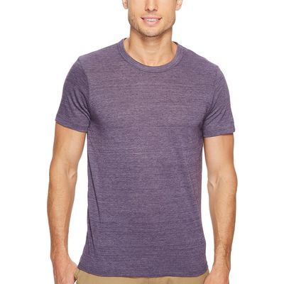 Alternative - Alternative Eco True Deep Purple S/S Crew Tee