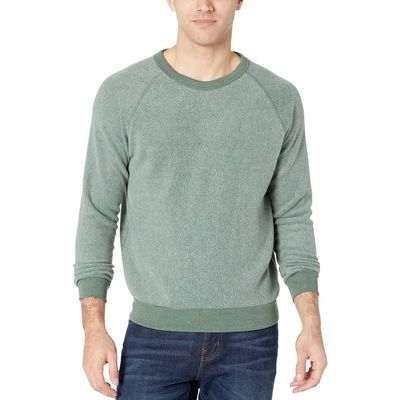 Alternative Eco True Dusty Pine Eco Teddy Champ Eco Fleece Sweatshirt