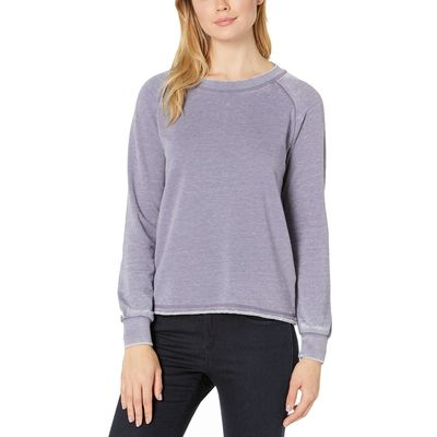 Alternative - Alternative Lavender Grey Burnout French Terry Lazy Day Pullover