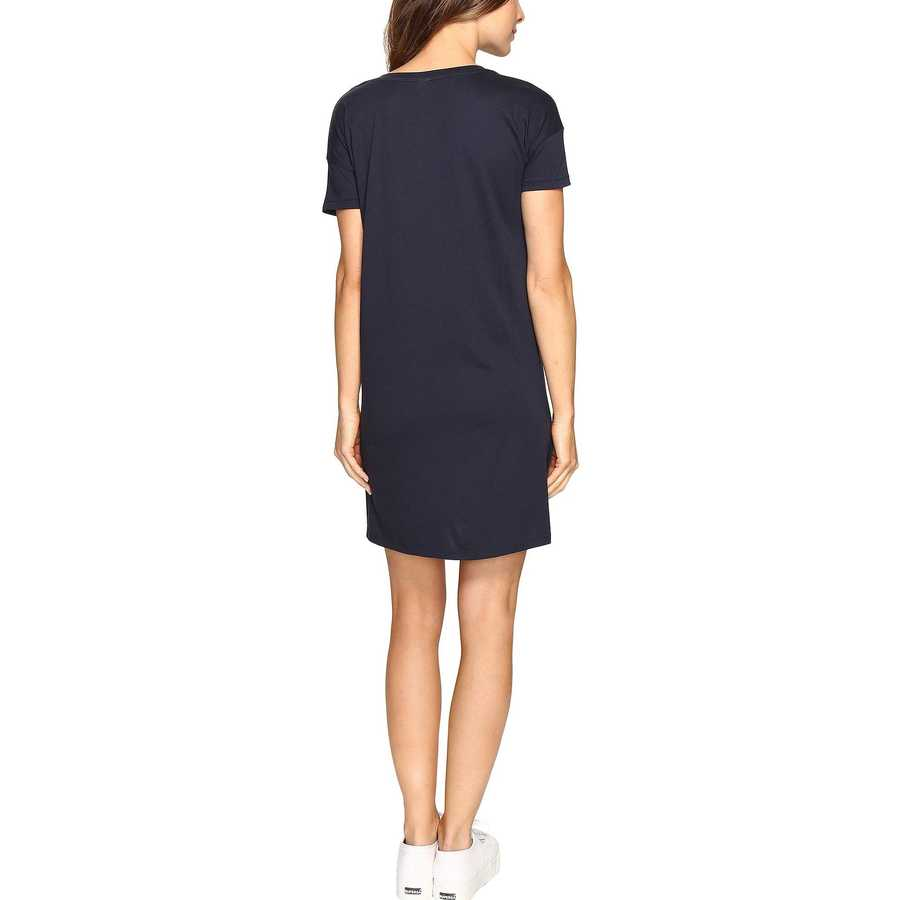 Alternative Midnight Straight Up Cotton Modal T-Shirt Dress