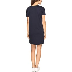 Alternative Midnight Straight Up Cotton Modal T-Shirt Dress - Thumbnail