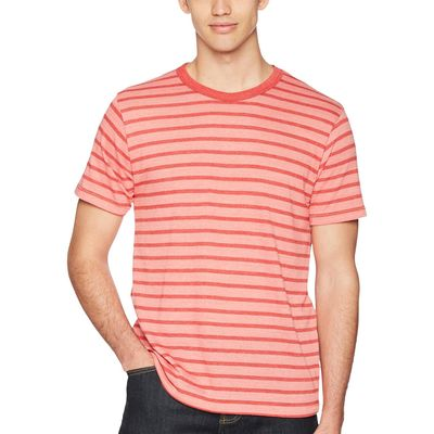 Alternative - Alternative Spiced Coral Overdye Riviera Stripe Eco Crew