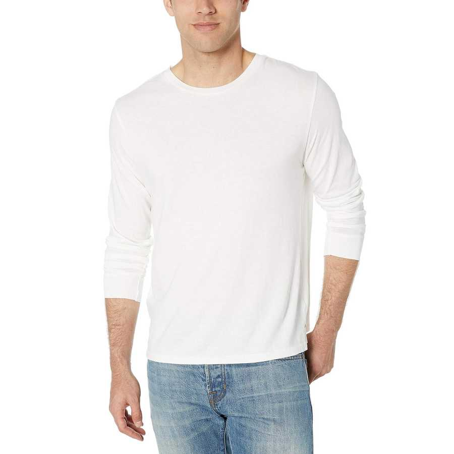 Alternative White Long Sleeve Outsider Tee