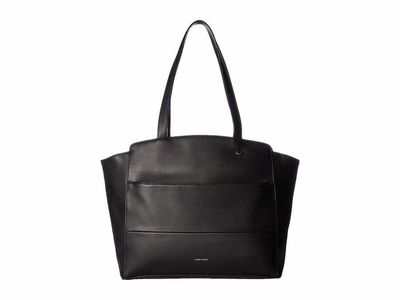 Anne Klein - Anne Klein Black Multi Compartment Tote Handbag
