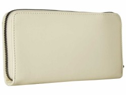 Anne Klein Cashmere Argyle Zip Around Checkbook Wallet - Thumbnail