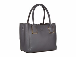 Anne Klein Graphite Mini Tote Handbag - Thumbnail