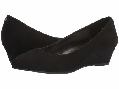 Anne Klein - Anne Klein Women Black Emera Wedge Heels