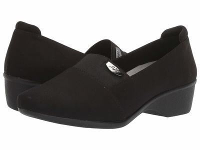 Anne Klein - Anne Klein Women Black Wallas Loafers