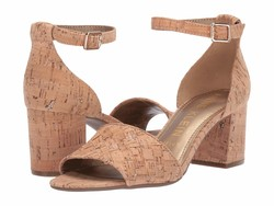 Anne Klein Women Cork Carine Heeled Sandal Heeled Sandals - Thumbnail