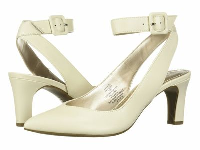 Anne Klein - Anne Klein Women Cream Kaisa Pumps