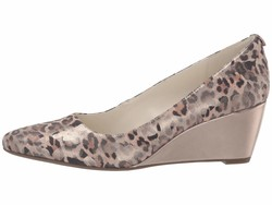Anne Klein Women Leopard İsley Wedge Heels - Thumbnail