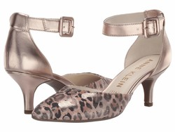 Anne Klein Women Metallic Leopard Camo Fabulist Pumps - Thumbnail
