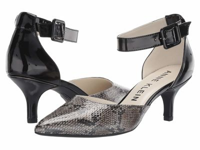 Anne Klein Women Natural Multi Snake Fabulist Pumps