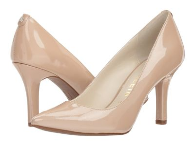 Anne Klein - Anne Klein Women Natural Patent Leather Faelyn Pumps