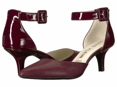 Anne Klein - Anne Klein Women Wine Fabulist Pumps