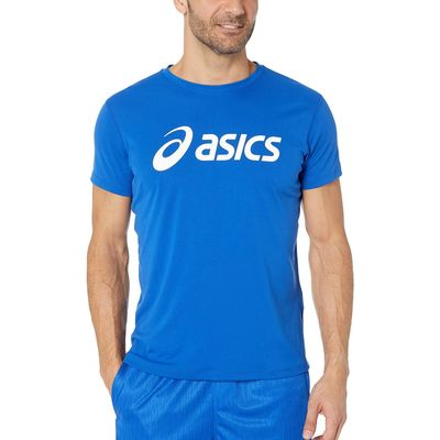 Asics - Asıcs Asics Blue/Brilliant White Silver Asics Top