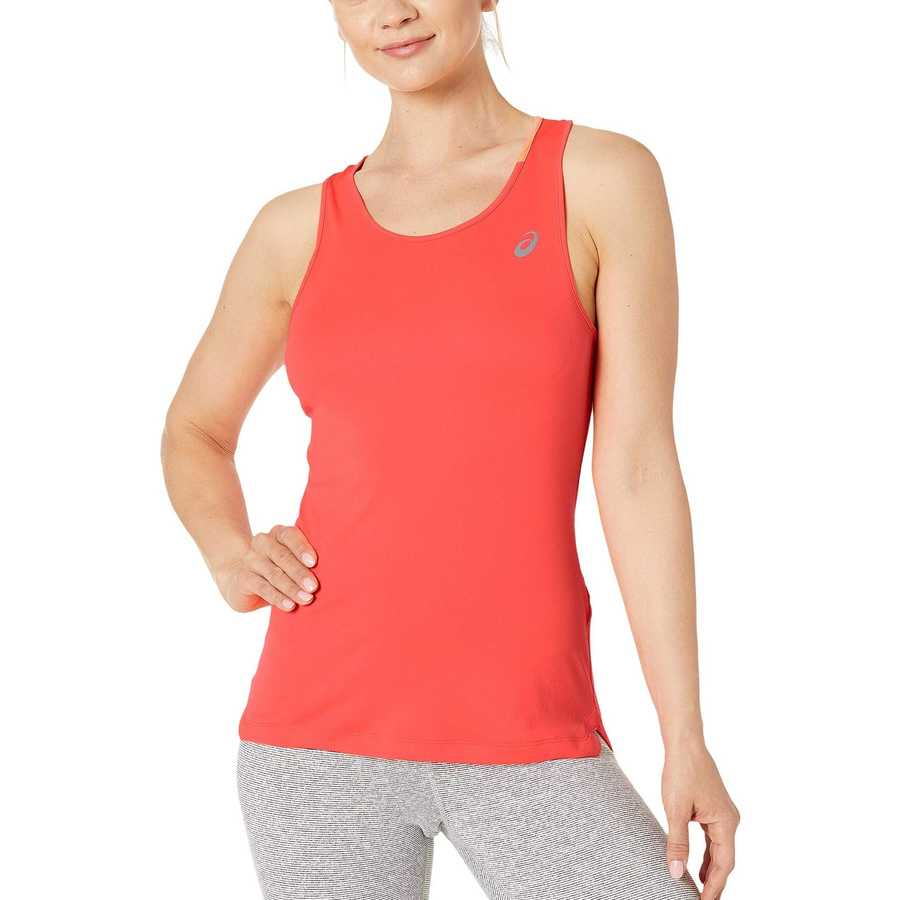 Asıcs Flash Coral Run Silver Tank Top