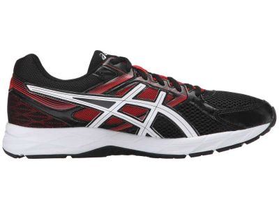Asics - ASICS Men's Onyx/Snow/Racing Red GEL-Contend 3 Sneakers Athletic Shoes 8523182590617