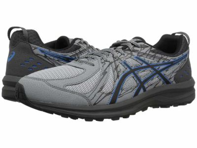 Asics - ASICS Men's Stone Grey Stone Grey Frequent Trail Running Shoes