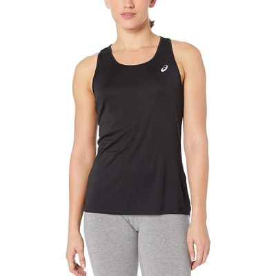 Asics - Asıcs Performance Black Run Silver Tank Top