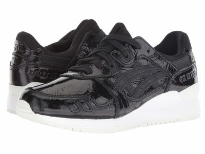 Asics - Asics Women Black/Black 2 Gel-Lyte İii Lifestyle Sneakers