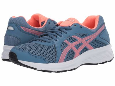 Asics - Asics Women Grey Floss/Sun Coral Jolt 2 Running Shoes