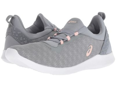Asics - Asics Women Stone Grey/Frosted Rose Gel-Fit Sana 4 Athletic Shoes