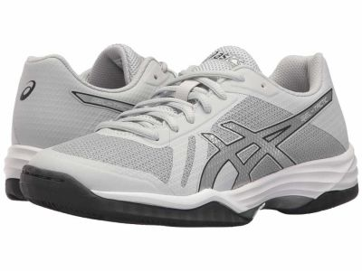Asics - ASICS Women's Glacier Grey/Silver/Dark Grey Gel-Tactic 2 Athletic Shoes