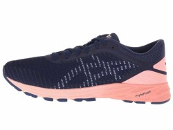 ASICS Women's Indigo Blue White Begonia Pink DynaFlyte 2 Running Shoes - Thumbnail