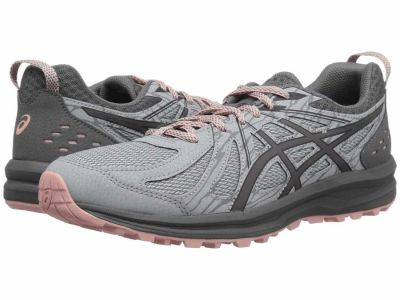 Asics - ASICS Women's Mid Grey Carbon Frequent Trail Running Shoes