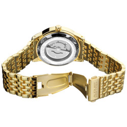 August Steiner Men's Automatic Mother of Pearl Bracelet Watch AS8026YG - Thumbnail