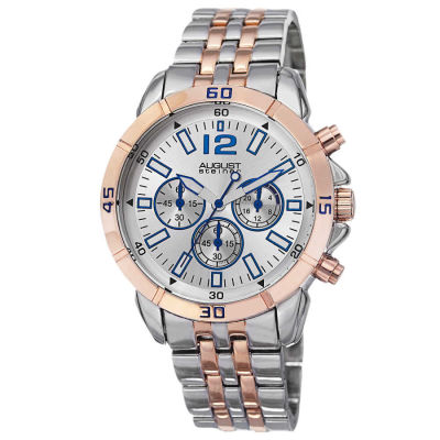 August Steiner - August Steiner Men's Quartz Chronograph Bracelet Watch AS8111TTR