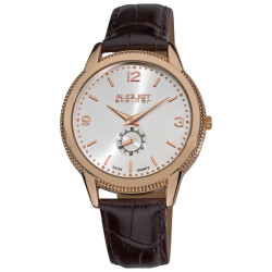 August Steiner Men's Swiss Quartz Strap Watch AS8020RG - Thumbnail