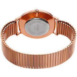August Steiner Women's Classic Expansion Band Bracelet Watch AS8216RG - Thumbnail