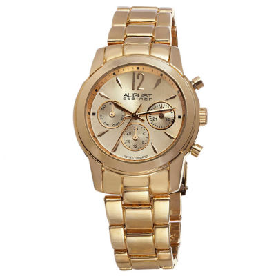 August Steiner - August Steiner Women's Swiss Quartz Multifunction Bracelet Watch AS8087YG