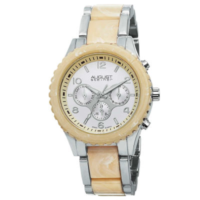 August Steiner - August Steiner Women's Swiss Quartz Multifunction Bracelet Watch AS8093SS