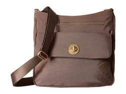 Baggallini Portobello İnternational Antalya Top Zip Flap Cross Body Bag - Thumbnail