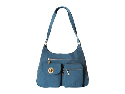 Baggallini - Baggallini Slate Blue İnternational San Marino Satchel Handbag